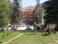 fotografie chebské dvorky